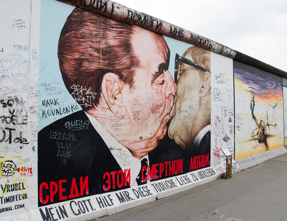 Destinasjon Berlin Wall