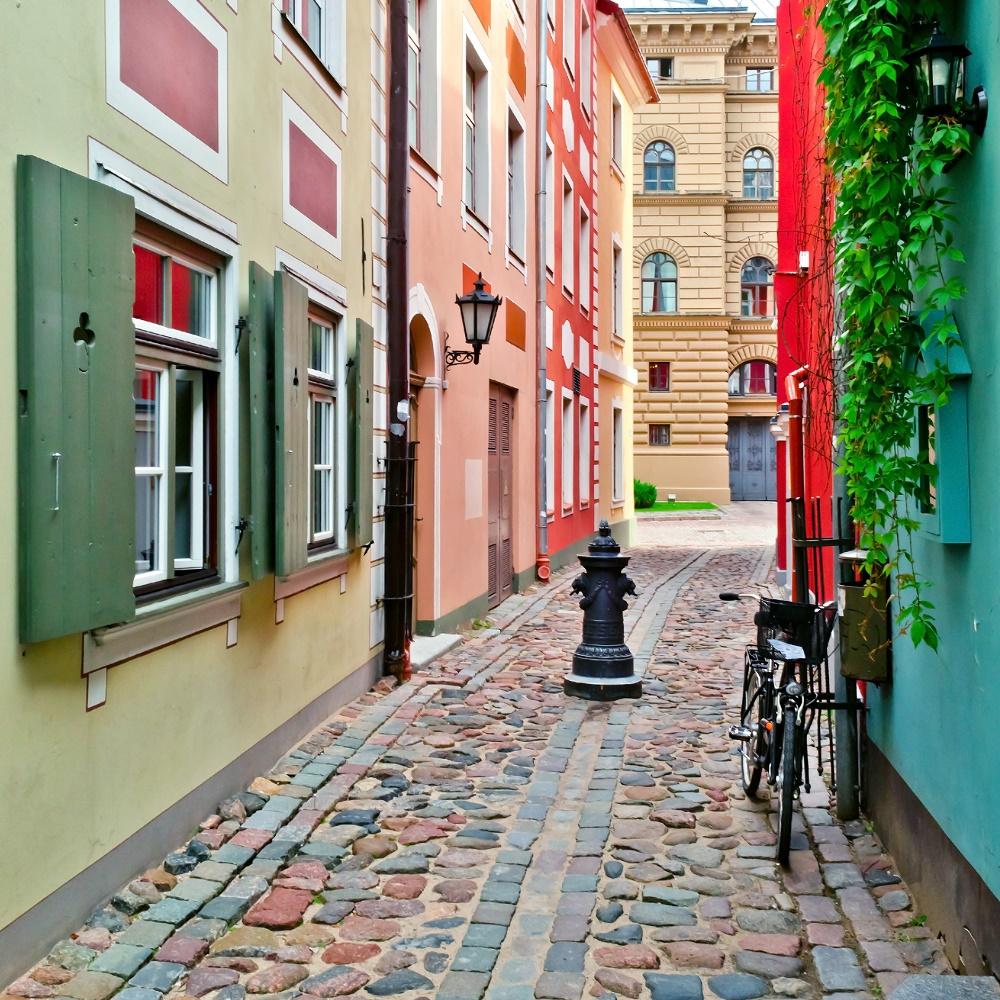 Destinasjon Riga